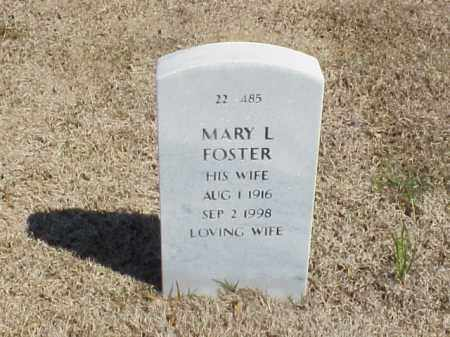 FOSTER, MARY L - Pulaski County, Arkansas | MARY L FOSTER - Arkansas Gravestone Photos