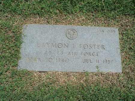 FOSTER (VETERAN), LAYMON L - Pulaski County, Arkansas | LAYMON L FOSTER (VETERAN) - Arkansas Gravestone Photos