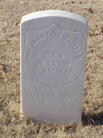 FOSTER (VETERAN SAW), RICHARD A - Pulaski County, Arkansas | RICHARD A FOSTER (VETERAN SAW) - Arkansas Gravestone Photos