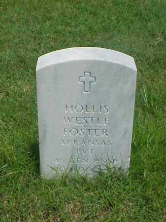 FOSTER (VETERAN WWII), HOLLIS WESTLE - Pulaski County, Arkansas | HOLLIS WESTLE FOSTER (VETERAN WWII) - Arkansas Gravestone Photos