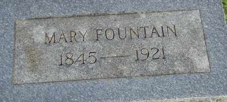 FOUNTAIN, MARY - Pulaski County, Arkansas | MARY FOUNTAIN - Arkansas Gravestone Photos