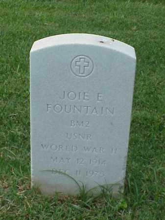 FOUNTAIN (VETERAN WWII), JOIE E - Pulaski County, Arkansas | JOIE E FOUNTAIN (VETERAN WWII) - Arkansas Gravestone Photos
