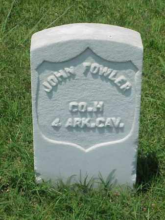 FOWLER (VETERAN UNION), JOHN - Pulaski County, Arkansas | JOHN FOWLER (VETERAN UNION) - Arkansas Gravestone Photos