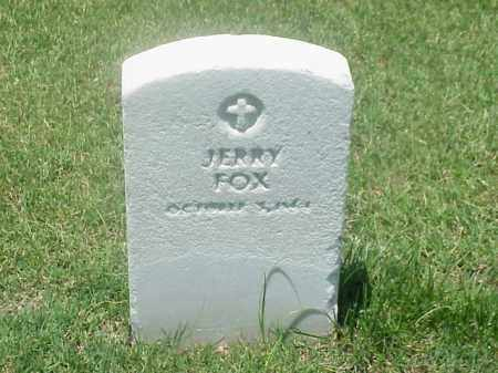 FOX (VETERAN UNION), JERRY - Pulaski County, Arkansas | JERRY FOX (VETERAN UNION) - Arkansas Gravestone Photos