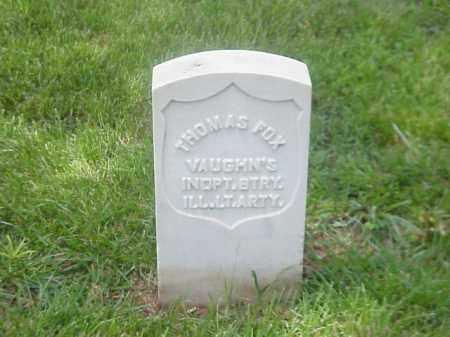 FOX (VETERAN UNION), THOMAS - Pulaski County, Arkansas | THOMAS FOX (VETERAN UNION) - Arkansas Gravestone Photos