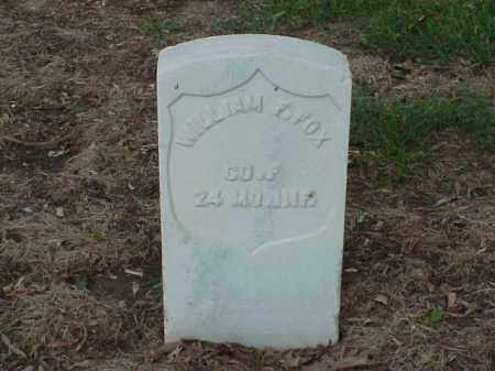 FOX (VETERAN UNION), WILLIAM F - Pulaski County, Arkansas | WILLIAM F FOX (VETERAN UNION) - Arkansas Gravestone Photos