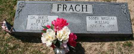 FRACH, JAMES - Pulaski County, Arkansas | JAMES FRACH - Arkansas Gravestone Photos