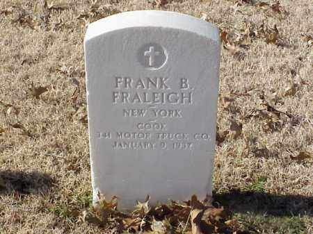 FRALEIGH (VETERAN WWI), FRANK B - Pulaski County, Arkansas | FRANK B FRALEIGH (VETERAN WWI) - Arkansas Gravestone Photos