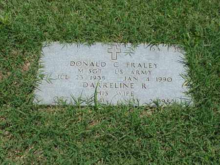 FRALEY (VETERAN 2 WARS), DONALD C - Pulaski County, Arkansas | DONALD C FRALEY (VETERAN 2 WARS) - Arkansas Gravestone Photos