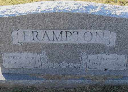 FRAMPTON, MARYANNA - Pulaski County, Arkansas | MARYANNA FRAMPTON - Arkansas Gravestone Photos
