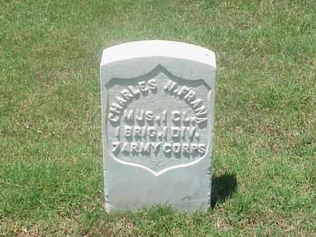 FRANA (VETERAN UNION), CHARLES W - Pulaski County, Arkansas | CHARLES W FRANA (VETERAN UNION) - Arkansas Gravestone Photos