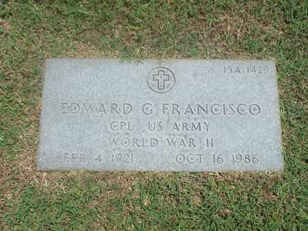 FRANCISCO (VETERAN WWII), EDWARD G - Pulaski County, Arkansas | EDWARD G FRANCISCO (VETERAN WWII) - Arkansas Gravestone Photos