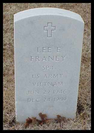 FRANEY (VETERAN VIET), LEE E - Pulaski County, Arkansas | LEE E FRANEY (VETERAN VIET) - Arkansas Gravestone Photos