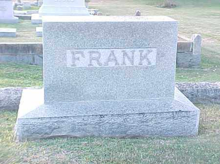 FRANK FAMILY STONE,  - Pulaski County, Arkansas |  FRANK FAMILY STONE - Arkansas Gravestone Photos