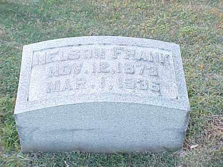 FRANK, NELSON - Pulaski County, Arkansas | NELSON FRANK - Arkansas Gravestone Photos