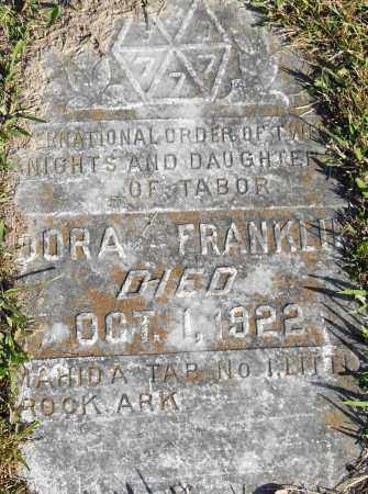 FRANKLIN, DORA - Pulaski County, Arkansas | DORA FRANKLIN - Arkansas Gravestone Photos