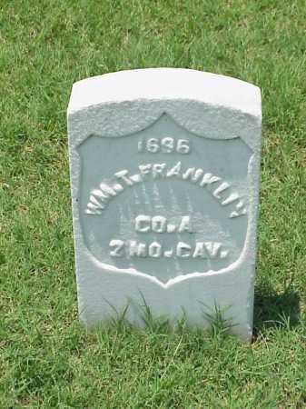 FRANKLIN (VETERAN UNION), WILLIAM T - Pulaski County, Arkansas | WILLIAM T FRANKLIN (VETERAN UNION) - Arkansas Gravestone Photos