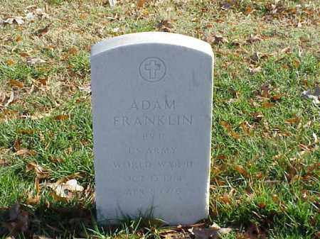 FRANKLIN (VETERAN WWII), ADAM - Pulaski County, Arkansas | ADAM FRANKLIN (VETERAN WWII) - Arkansas Gravestone Photos
