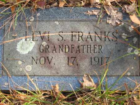 FRANKS, LEVI S - Pulaski County, Arkansas | LEVI S FRANKS - Arkansas Gravestone Photos