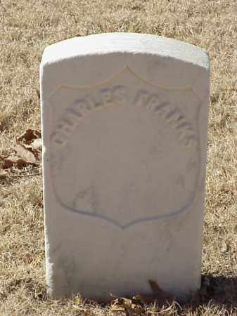 FRANKS (VETERAN UNION), CHARLES - Pulaski County, Arkansas | CHARLES FRANKS (VETERAN UNION) - Arkansas Gravestone Photos