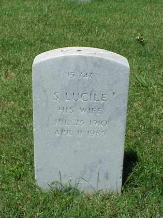 FRASER, S LUCILE - Pulaski County, Arkansas | S LUCILE FRASER - Arkansas Gravestone Photos