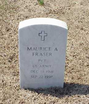 FRASER (VETERAN), MAURICE A - Pulaski County, Arkansas | MAURICE A FRASER (VETERAN) - Arkansas Gravestone Photos