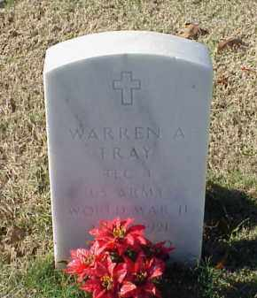 FRAY (VETERAN WWII), WARREN A - Pulaski County, Arkansas | WARREN A FRAY (VETERAN WWII) - Arkansas Gravestone Photos
