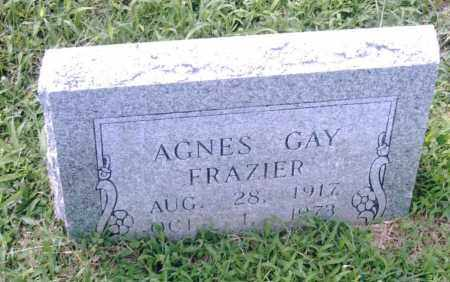 FRAZIER, AGNES GAY - Pulaski County, Arkansas | AGNES GAY FRAZIER - Arkansas Gravestone Photos