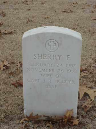 FRAZIER, SHERRY F - Pulaski County, Arkansas | SHERRY F FRAZIER - Arkansas Gravestone Photos