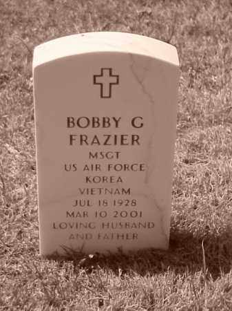 FRAZIER (VETERAN 2 WARS), BOBBY G - Pulaski County, Arkansas | BOBBY G FRAZIER (VETERAN 2 WARS) - Arkansas Gravestone Photos