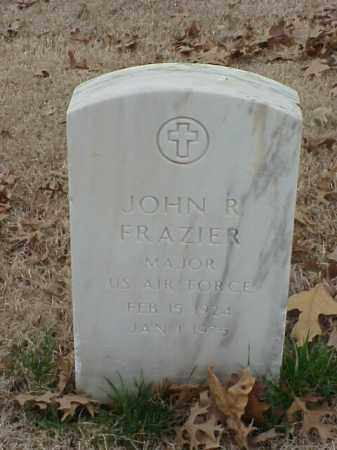 FRAZIER (VETERAN 2 WARS), JOHN R - Pulaski County, Arkansas | JOHN R FRAZIER (VETERAN 2 WARS) - Arkansas Gravestone Photos