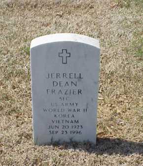 FRAZIER (VETERAN 3 WARS), JERRELL DEAN - Pulaski County, Arkansas | JERRELL DEAN FRAZIER (VETERAN 3 WARS) - Arkansas Gravestone Photos