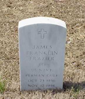 FRAZIER (VETERAN PGW), JAMES FRANKLIN - Pulaski County, Arkansas | JAMES FRANKLIN FRAZIER (VETERAN PGW) - Arkansas Gravestone Photos
