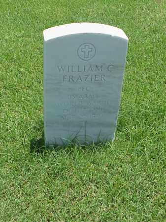 FRAZIER (VETERAN WWII), WILLIAM C - Pulaski County, Arkansas | WILLIAM C FRAZIER (VETERAN WWII) - Arkansas Gravestone Photos