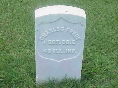 FREDE (VETERAN UNION), CHARLES - Pulaski County, Arkansas | CHARLES FREDE (VETERAN UNION) - Arkansas Gravestone Photos