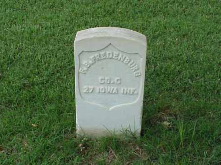 FREDENBURG (VETERAN UNION), F B - Pulaski County, Arkansas | F B FREDENBURG (VETERAN UNION) - Arkansas Gravestone Photos
