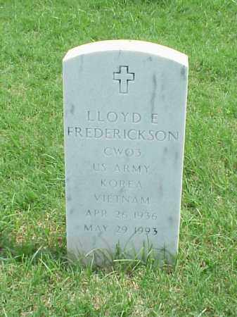 FREDERICKSON (VETERAN 2 WARS), LLOYD E - Pulaski County, Arkansas | LLOYD E FREDERICKSON (VETERAN 2 WARS) - Arkansas Gravestone Photos