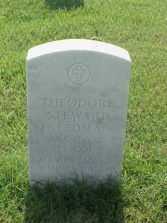 FREEDMAN (VETERAN WWII), THEODORE STEWART - Pulaski County, Arkansas | THEODORE STEWART FREEDMAN (VETERAN WWII) - Arkansas Gravestone Photos