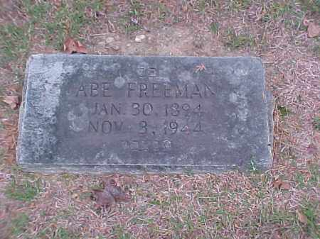 FREEMAN, ABE - Pulaski County, Arkansas | ABE FREEMAN - Arkansas Gravestone Photos