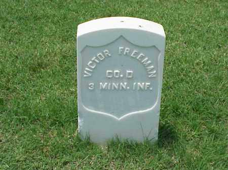 FREEMAN (VETERAN UNION), VICTOR - Pulaski County, Arkansas | VICTOR FREEMAN (VETERAN UNION) - Arkansas Gravestone Photos