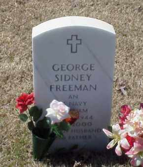 FREEMAN (VETERAN VIET), GEORGE SIDNEY - Pulaski County, Arkansas | GEORGE SIDNEY FREEMAN (VETERAN VIET) - Arkansas Gravestone Photos