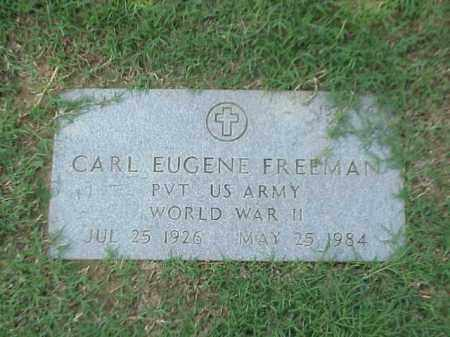FREEMAN (VETERAN WWII), CARL EUGENE - Pulaski County, Arkansas | CARL EUGENE FREEMAN (VETERAN WWII) - Arkansas Gravestone Photos