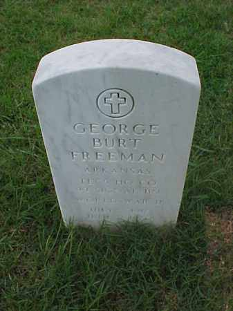 FREEMAN (VETERAN WWII), GEORGE BURT - Pulaski County, Arkansas | GEORGE BURT FREEMAN (VETERAN WWII) - Arkansas Gravestone Photos