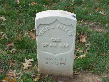 FREESE (VETERAN SAW), FRED J - Pulaski County, Arkansas | FRED J FREESE (VETERAN SAW) - Arkansas Gravestone Photos