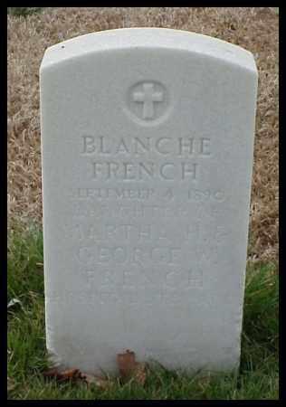 FRENCH, BLANCHE - Pulaski County, Arkansas | BLANCHE FRENCH - Arkansas Gravestone Photos