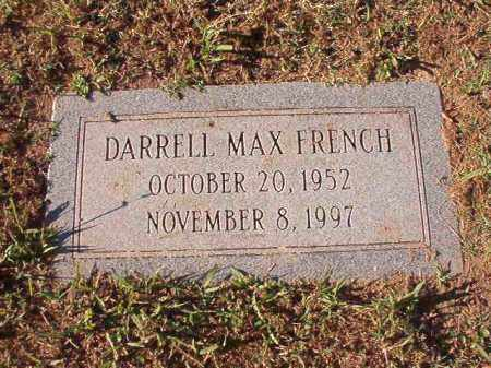 FRENCH, DARRELL MAX - Pulaski County, Arkansas | DARRELL MAX FRENCH - Arkansas Gravestone Photos
