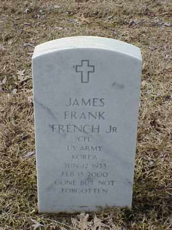 FRENCH, JR  (VETERAN KOR), JAMES FRANK - Pulaski County, Arkansas | JAMES FRANK FRENCH, JR  (VETERAN KOR) - Arkansas Gravestone Photos