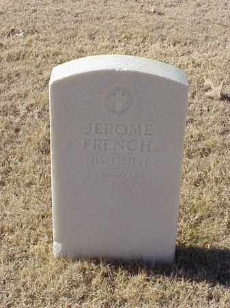 FRENCH (VETERAN UNION), JEROME - Pulaski County, Arkansas | JEROME FRENCH (VETERAN UNION) - Arkansas Gravestone Photos