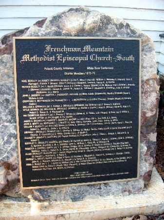 *FRENCHMEN'S MOUNTAIN MEMORIAL,  - Pulaski County, Arkansas |  *FRENCHMEN'S MOUNTAIN MEMORIAL - Arkansas Gravestone Photos