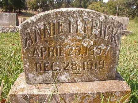 FRICK, ANNIE M - Pulaski County, Arkansas | ANNIE M FRICK - Arkansas Gravestone Photos